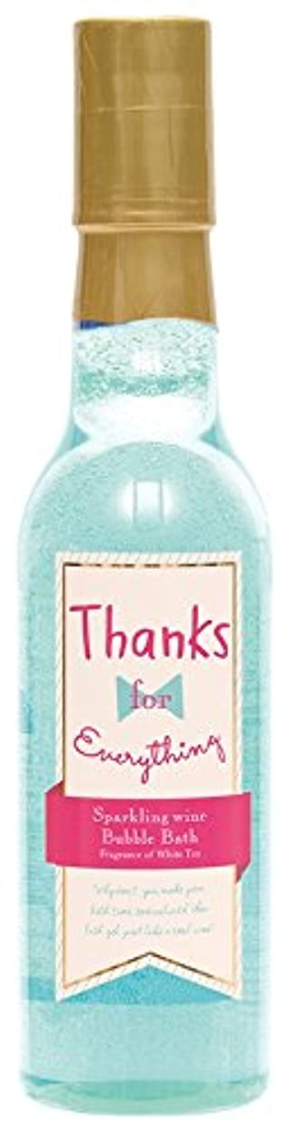 おなじみの軌道減衰ノルコーポレーション 入浴剤 バブルバス スパークリングワイン 240ml ホワイトティーの香り OB-WIB-6-2