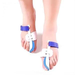 外反母趾 専用 矯正 ケア ベルト 寝ている間に親指矯正 【 3種セットから選べます 】 (右足用)