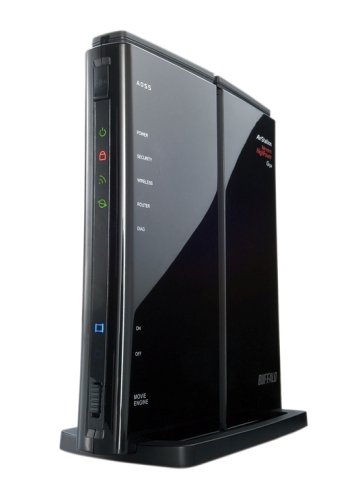BUFFALO 無線LANルータ AirStation Nfiniti ハイパワー WZR-HP-G300NH