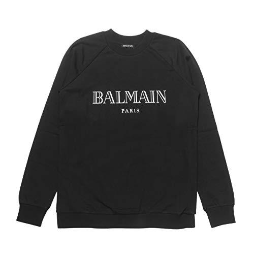 (バルマン) BALMAIN 長袖スウェット ブラック 146908 I767 C5101 [並行輸入品]