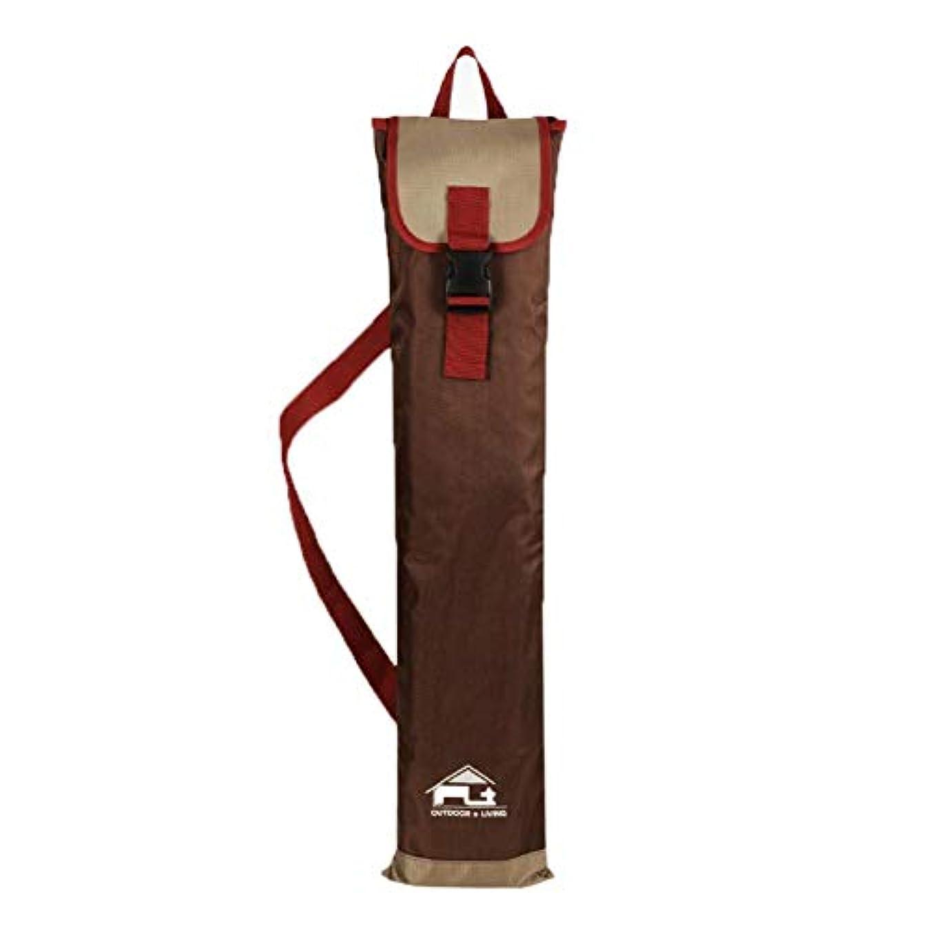 欠席歴史的アカウント釣り用ロッドケース 釣り用バッグ フィッシングバッグ ポータブル 釣りロッド 釣り竿 ツール収納袋ロッドケース オックスフォード布 カーキ 防水 82×20cm/113×17cm