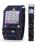 Pavaruni ペーパーウォッチ 防水 タイベック ハンドメイド デジタル腕時計 友人や家族へのクリスマスプレゼント 木製腕時計 エルフ