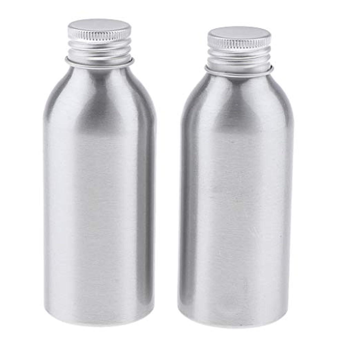 地理在庫作曲家Perfeclan ディスペンサーボトル 空ボトル アルミボトル 化粧品ボトル 詰替え容器 広い口 防錆 全5サイズ - 120ml