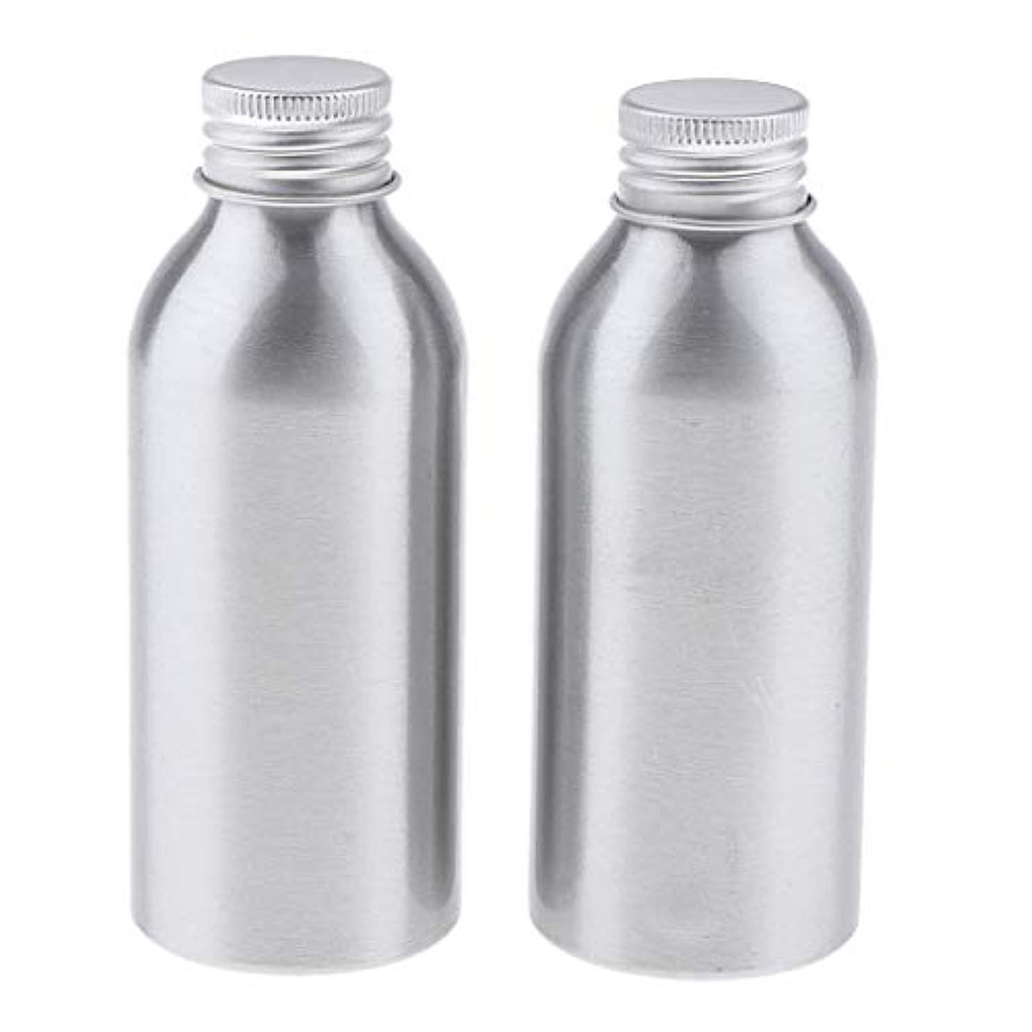 集団稼ぐ重要なディスペンサーボトル 空ボトル アルミボトル 化粧品ボトル 詰替え容器 広い口 防錆 全5サイズ - 120ml