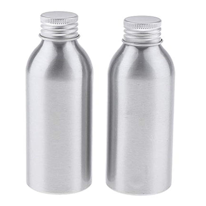 Perfeclan ディスペンサーボトル 空ボトル アルミボトル 化粧品ボトル 詰替え容器 広い口 防錆 全5サイズ - 120ml