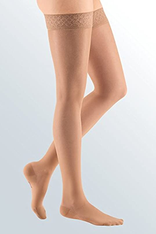 成長するトロイの木馬願望Mediven Sheer and Soft Thigh High w/ Silicone Top Band, Closed Toe, 15-20 mmHg, I, Natural, 1/Pair, MDV42601 by...