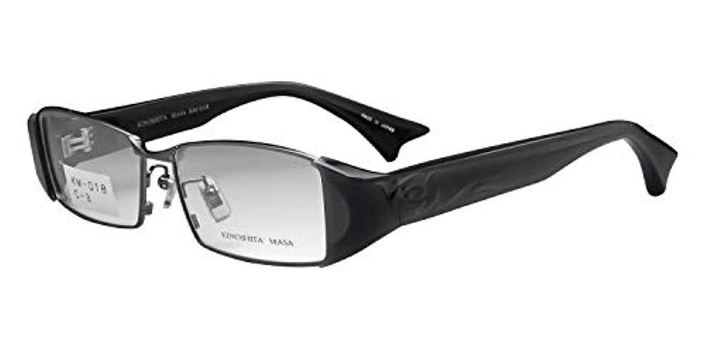 鯖江ワークス(SABAE WORKS) 老眼鏡 ブルーカット 格好いい スクエア グレー KM018C3 +1.50