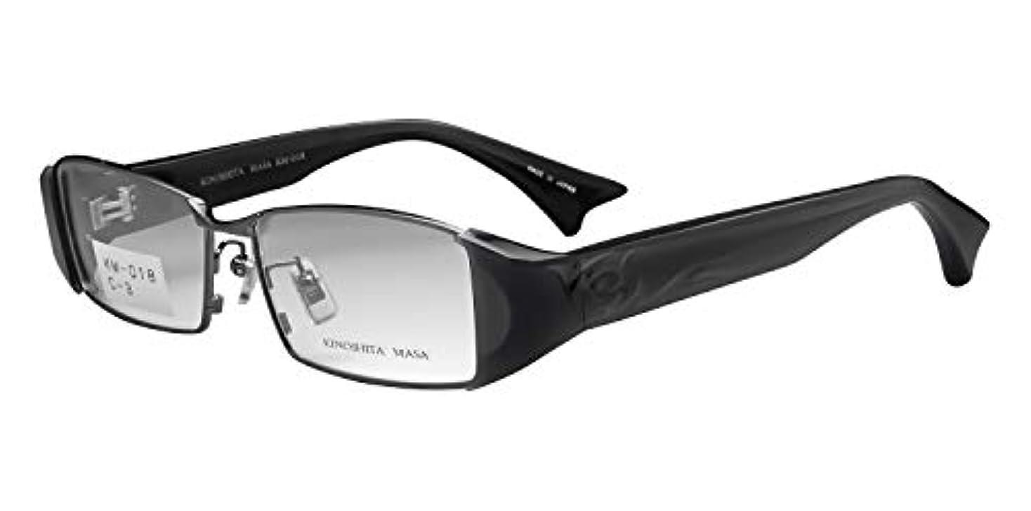 鯖江ワークス(SABAE WORKS) 老眼鏡 ブルーカット 格好いい スクエア グレー KM018C3 +2.00