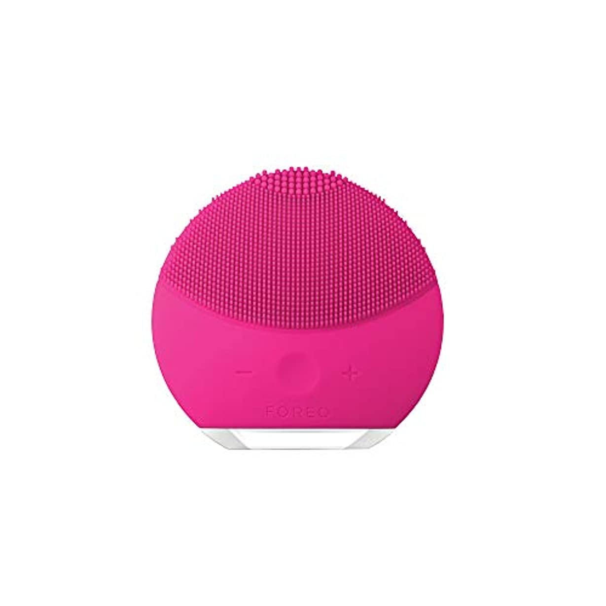 波紋秀でる意味するFOREO LUNA mini 2 フクシア 電動洗顔ブラシ シリコーン製 音波振動