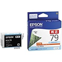 エプソン SC-PX5V2用 インクカートリッジ(ライトシアン) ICLC79 〈簡易梱包