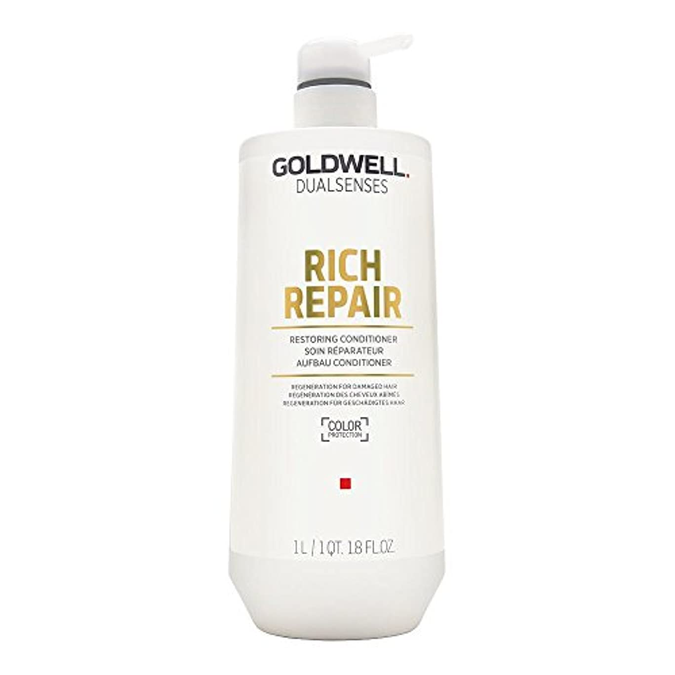ゴールドウェル Dual Senses Rich Repair Restoring Conditioner (Regeneration For Damaged Hair) 1000ml