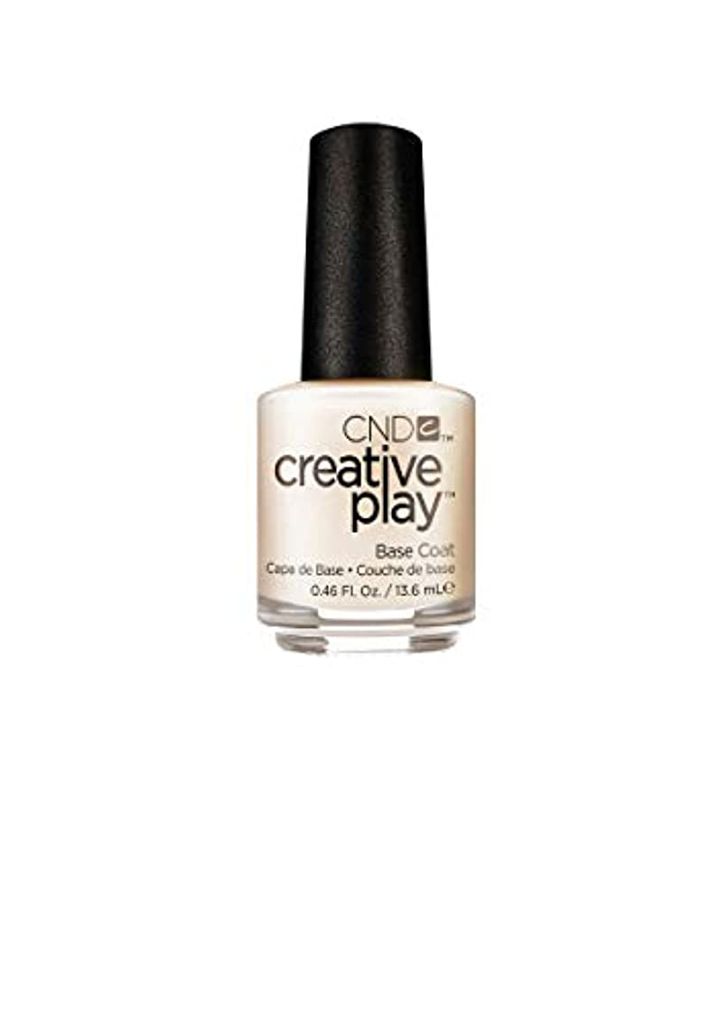練る化学アルバムCND Creative Play Lacquer - Base Coat - 0.46oz / 13.6ml