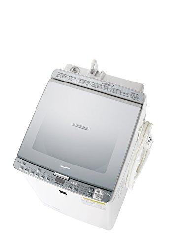 シャープ タテ型洗濯乾燥機 8kgタイプ シルバー系 ESPX8B-S