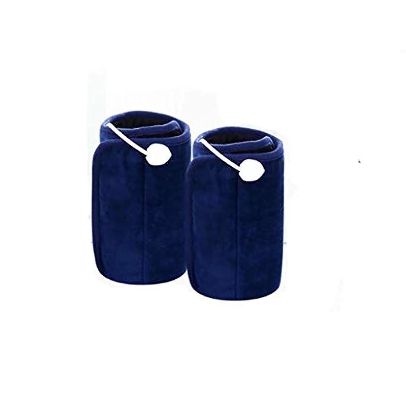 海軍幾何学腰電気膝パッド、温かい古い膝、携帯式膝加熱、360°oxi温かい家庭用スマート温度調整