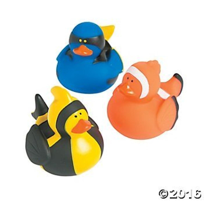 Fish Rubber Ducks - 12 ct [並行輸入品]