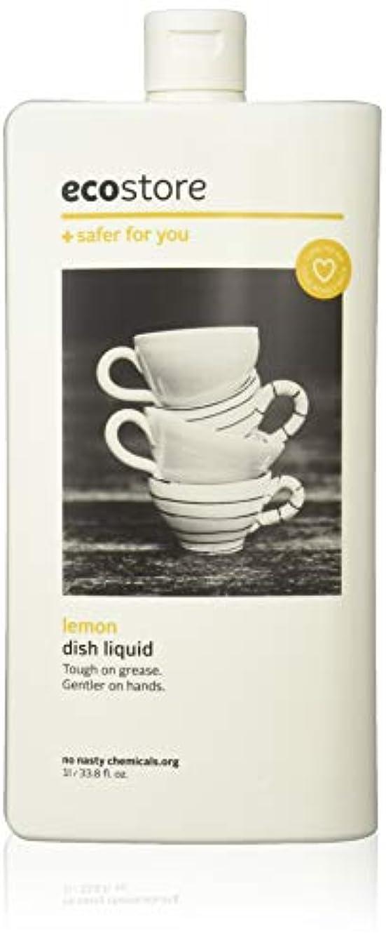 。路地音声学ecostore エコストア ディッシュウォッシュリキッド  【レモン】 1L  食器洗い用 洗剤