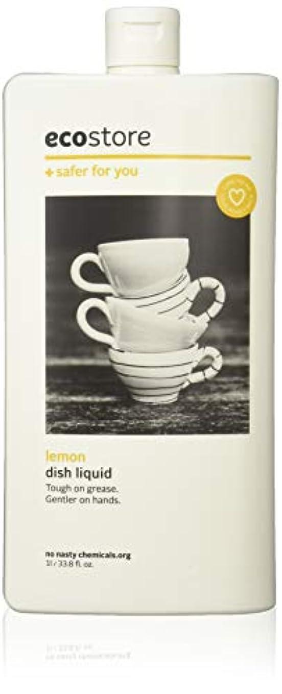 電化する野望良さecostore エコストア ディッシュウォッシュリキッド  【レモン】 1L  食器洗い用 洗剤