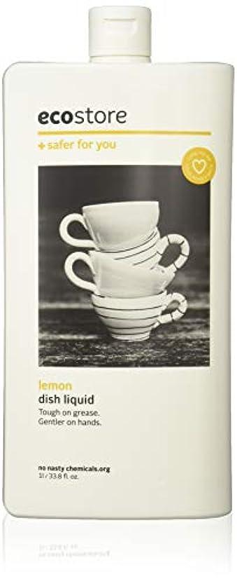 ぴったり白い関連するecostore エコストア ディッシュウォッシュリキッド  【レモン】 1L  食器洗い用 洗剤