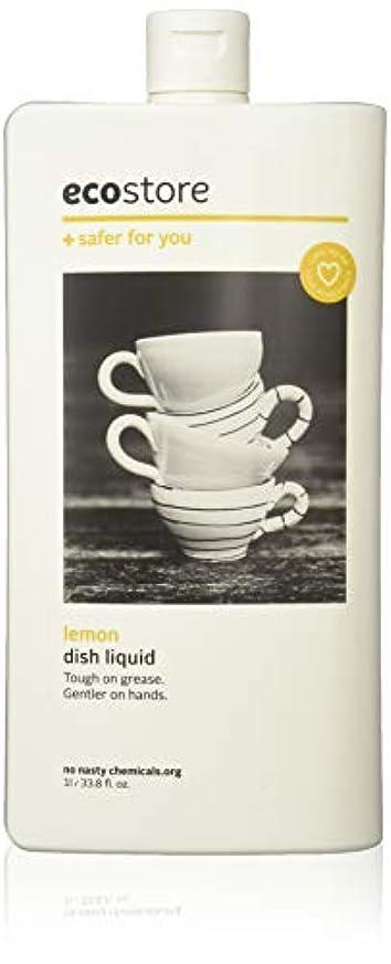 合理化不健全短くするecostore エコストア ディッシュウォッシュリキッド  【レモン】 1L  食器洗い用 洗剤