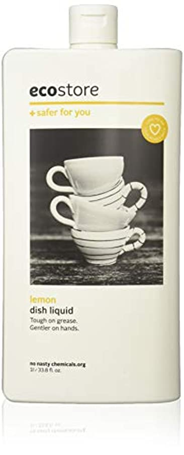 たまに麻痺数字ecostore エコストア ディッシュウォッシュリキッド  【レモン】 1L  食器洗い用 洗剤