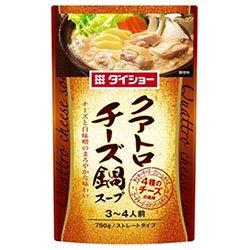 ダイショー クアトロチーズ鍋スープ 750g×10袋入