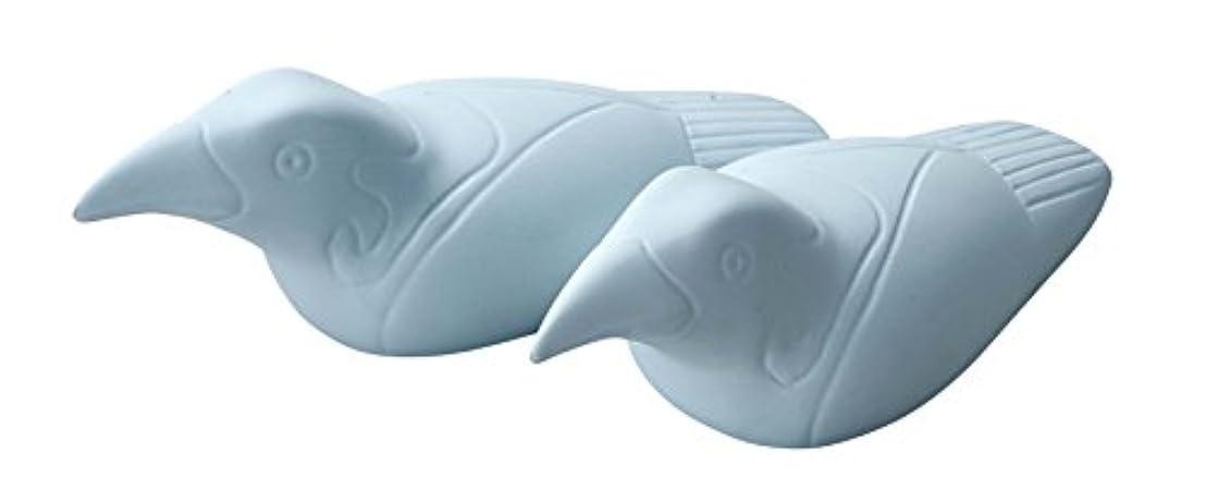 ピグマリオン家畜マキシムヤマキイカイ made in japan SUCERA(スウセラ) きゅうかん鳥 L ブルー MJ155