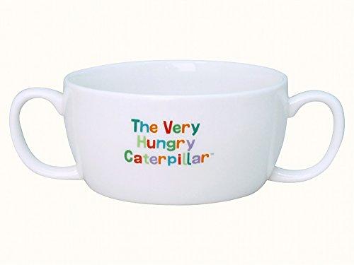 「 はらぺこあおむし 」 こども用 ブリオン(両手スープカップ) 210ml 子供用 食器 白 807137
