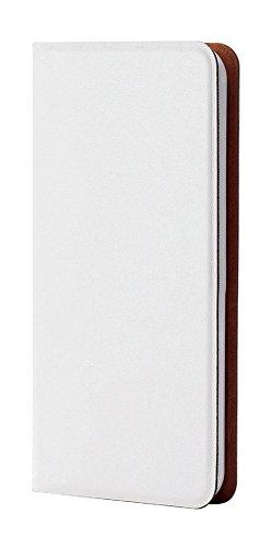 エレコム iPod touch 2015 レザーカバー ポケット付 横型フラップ 薄型 ケース ホワイト AVA-T15PLFUWH