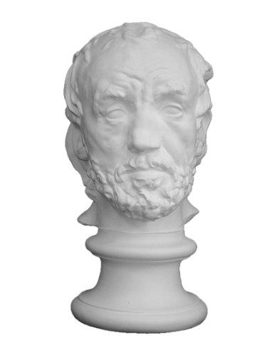 石膏像 S-214 鼻のつぶれた男首像(大) H.35cm