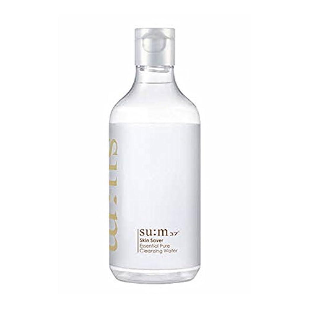与えるスキー冷蔵庫[スム37°] Sum37° スキンセイバー エッセンシャルピュアクレンジングウォーター  Skin saver Essential Pure Cleansing Water (海外直送品) [並行輸入品]
