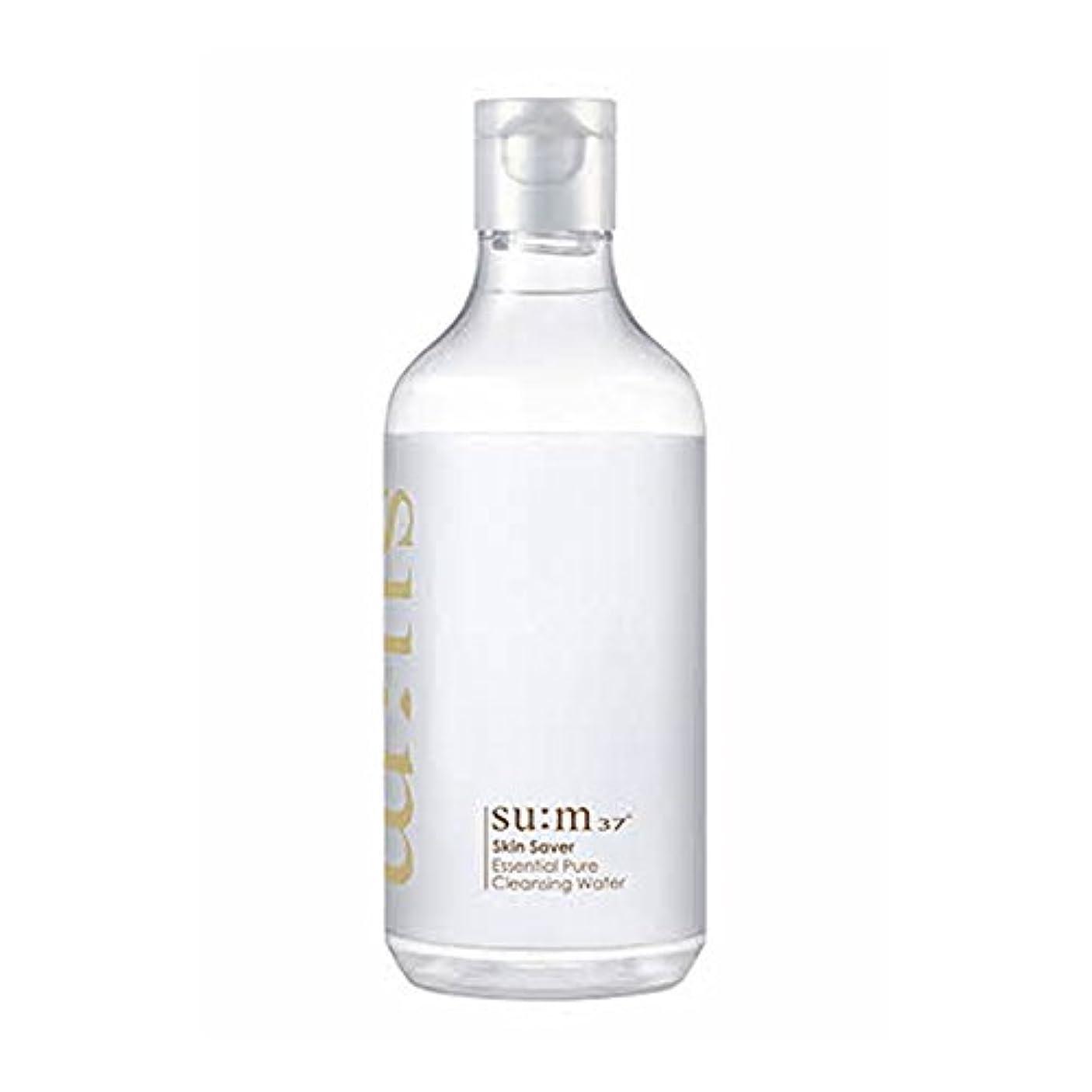 スラックインターネットハチ[スム37°] Sum37° スキンセイバー エッセンシャルピュアクレンジングウォーター  Skin saver Essential Pure Cleansing Water (海外直送品) [並行輸入品]