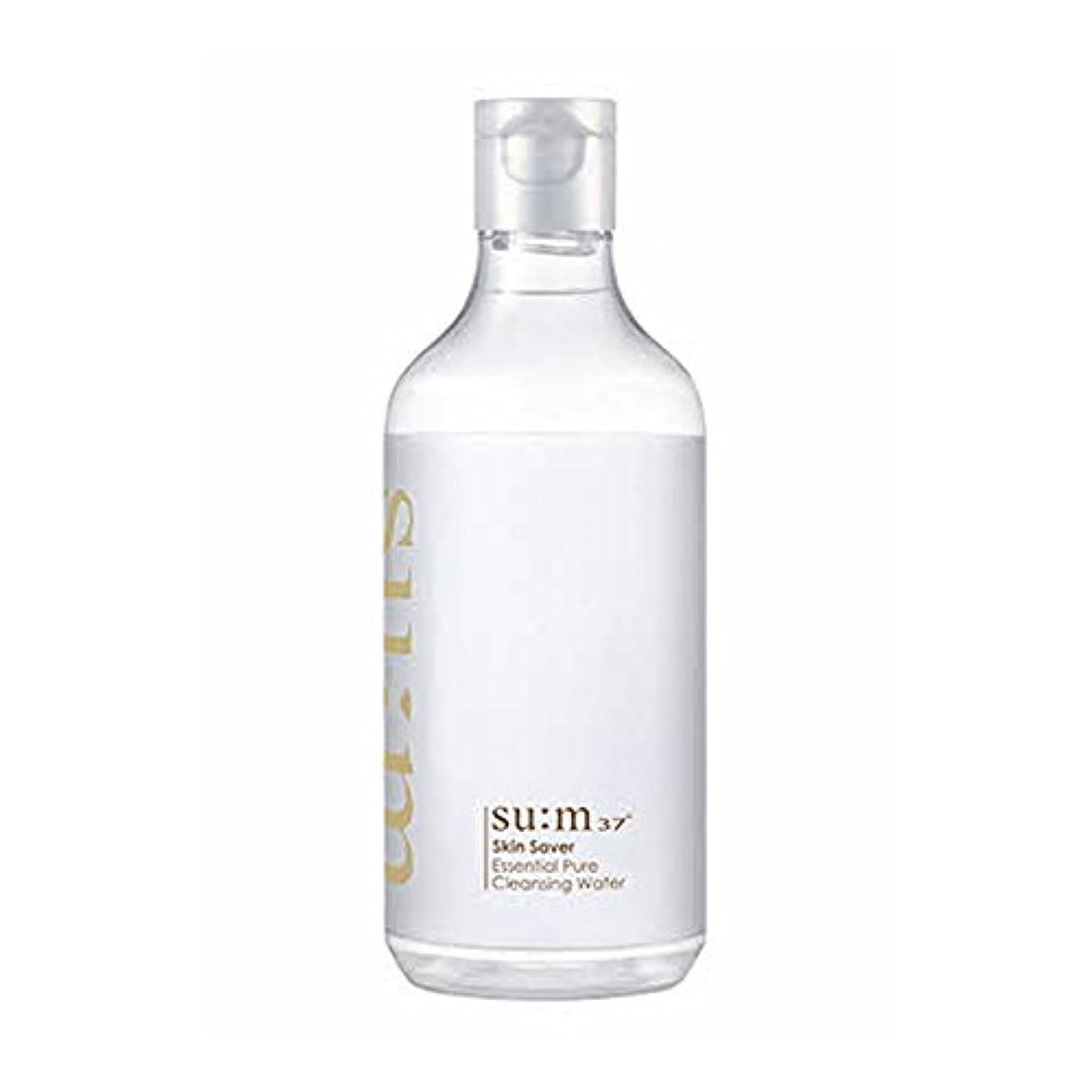 赤字労働留め金[スム37°] Sum37° スキンセイバー エッセンシャルピュアクレンジングウォーター  Skin saver Essential Pure Cleansing Water (海外直送品) [並行輸入品]