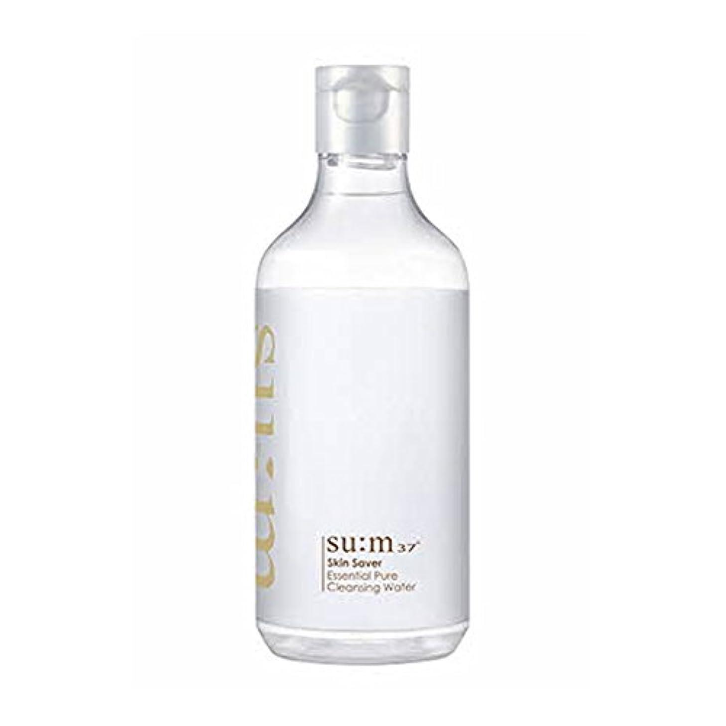 百科事典恐怖症ダルセット[スム37°] Sum37° スキンセイバー エッセンシャルピュアクレンジングウォーター  Skin saver Essential Pure Cleansing Water (海外直送品) [並行輸入品]