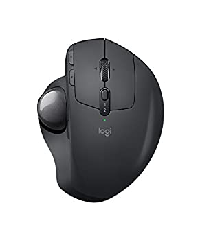 Logicool ロジクール MXTB1s bluetooth ワイヤレス トラックボール MX ERGO Windows,Mac対応 筋緊張20%軽減 8ボタン 高速充電式 2年間無償保証