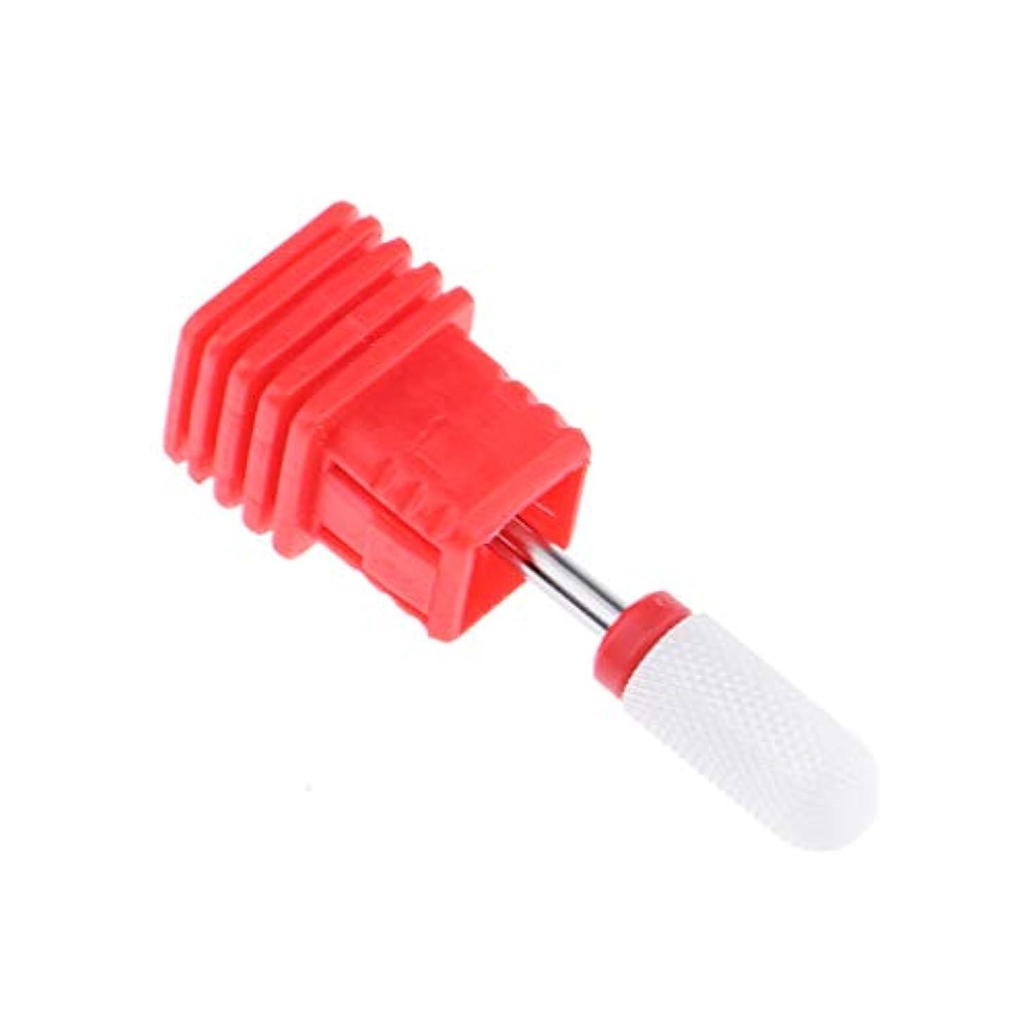 三十オール明示的にネイルドリルビット ネイル研削 ネイルアート道具 爪磨き ネイルファイル 4サイズ選べ - レッドファインリッジ