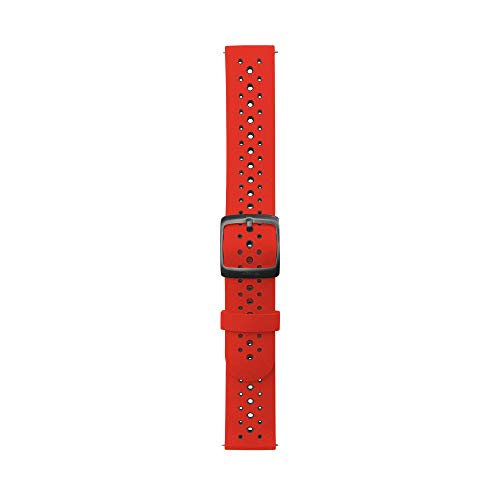 Withings Steel HR Sport用別売りリストバンド Red Bicolore Silicone Sport wristband【日本正規代理店品】 SILICONE WRISTBAND-S