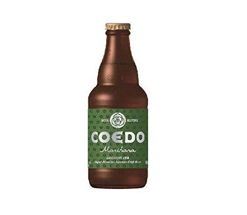 COEDO 小江戸ビール 毬花 Marihana 333ml×24本 1ケース ビン コエドビール ☆