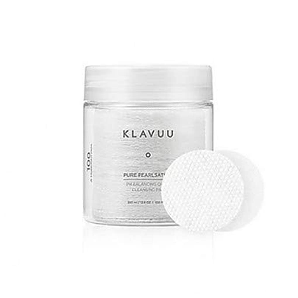 信仰セレナ倉庫[Klavuu] PURE PEARLSATION PH BALANCING QUICK CLEANSING PAD 100枚 [並行輸入品]
