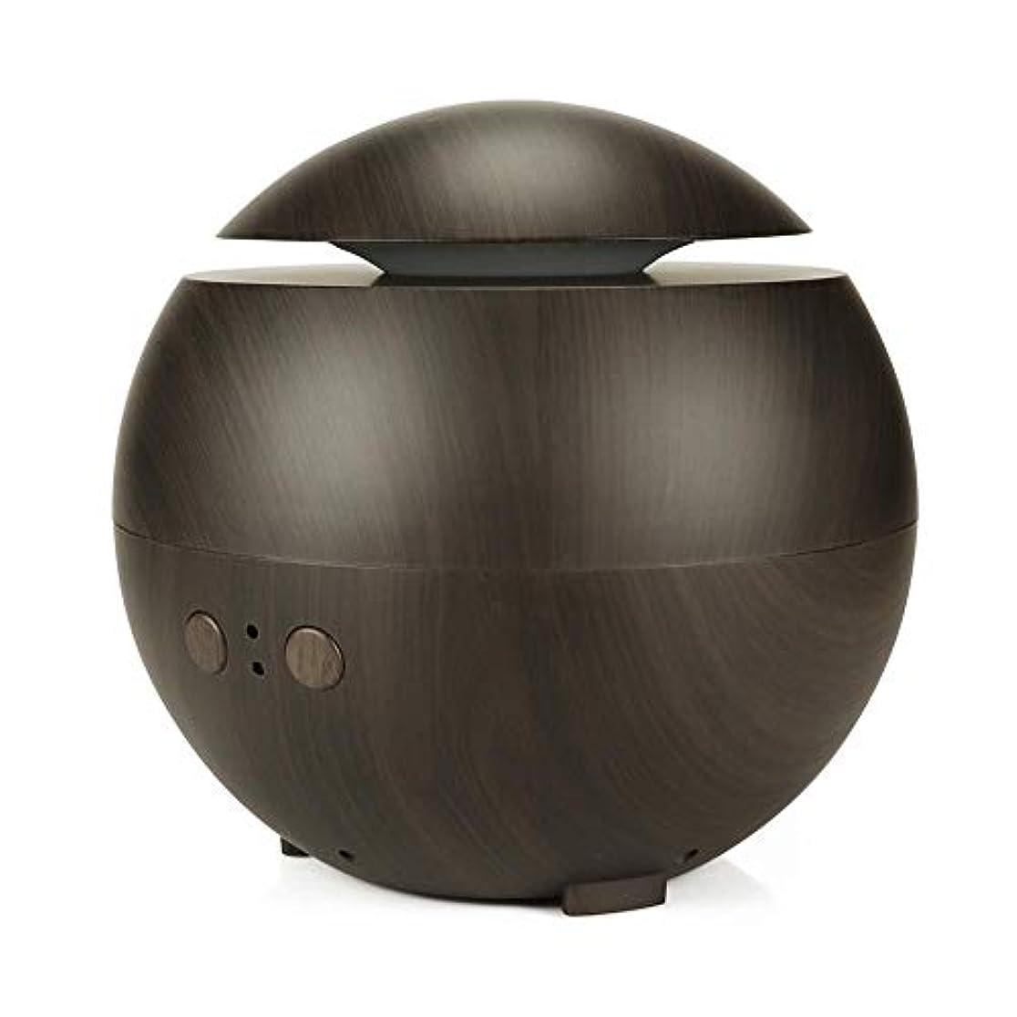 距離交響曲メイエラアロマ加湿器 超音波式加湿器 アロマディフューザー ABSとPP製 600ml 大容量 シンプル おしゃれ 静音 空焚き防止 耐腐食性 長持ち使える 木目調 Styleshow