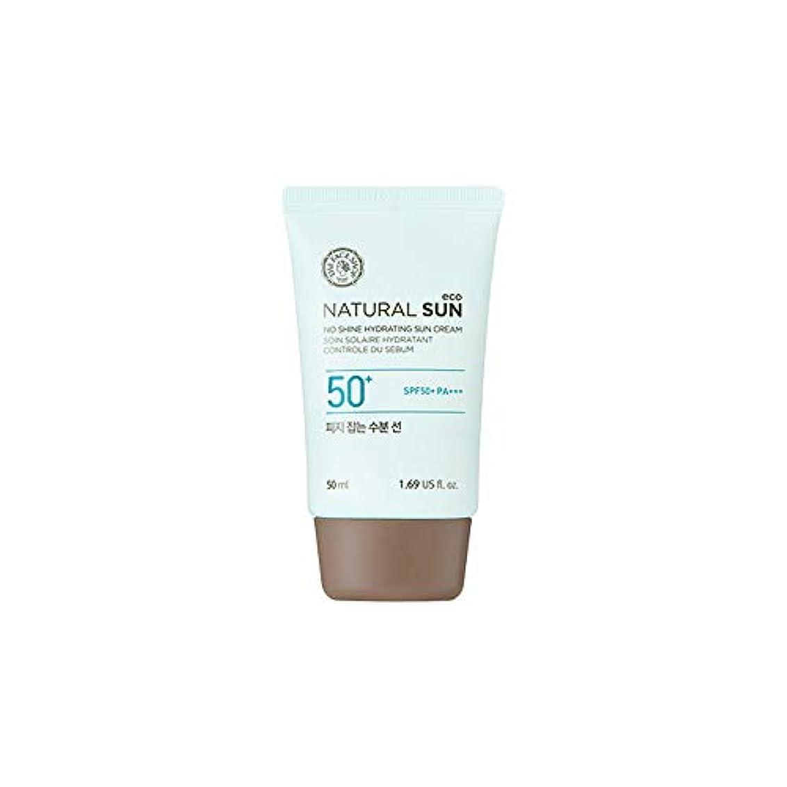 タイプライター金曜日西[ザ?フェイスショップ] The Face Shop ナチュラルサン エコ ノーシャイン?ハイドレーティング?サン?クリーム SPF40 PA+++ The Face Shop Natural Sun Eco No Shine...