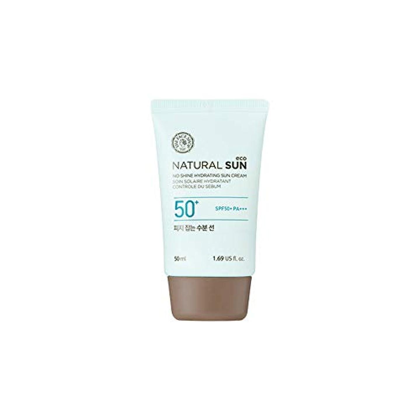 スカリー勇気調和[ザ?フェイスショップ] The Face Shop ナチュラルサン エコ ノーシャイン?ハイドレーティング?サン?クリーム SPF40 PA+++ The Face Shop Natural Sun Eco No Shine...