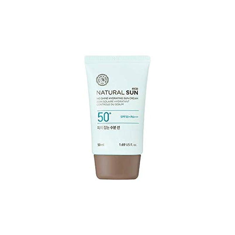 ハンカチミット愛する[ザ?フェイスショップ] The Face Shop ナチュラルサン エコ ノーシャイン?ハイドレーティング?サン?クリーム SPF40 PA+++ The Face Shop Natural Sun Eco No Shine...