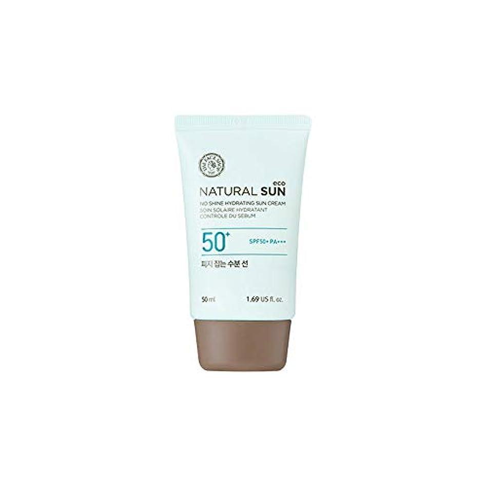 発表症状黙[ザ?フェイスショップ] The Face Shop ナチュラルサン エコ ノーシャイン?ハイドレーティング?サン?クリーム SPF40 PA+++ The Face Shop Natural Sun Eco No Shine...