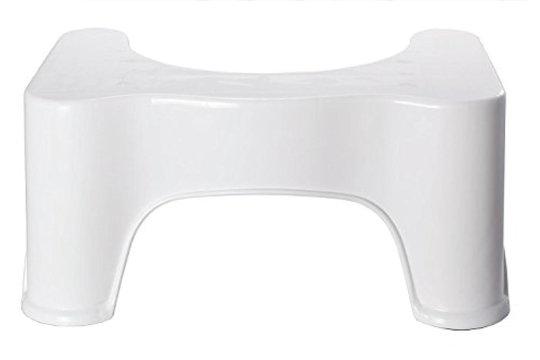 KH 洋式トイレ用 踏み台 (高さ?21cm, ホワイト)