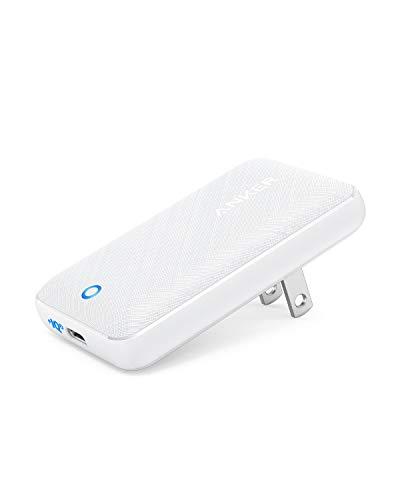Anker PowerPort Atom III Slim (PD対応 30W USB-C 急速充電器)【世界最薄デザイン/PSE認証済/PowerIQ 3.0搭載 / Power Delivery 対応/折りたたみ式プラグ】 iPhone 11 / 11 Pro / 11 Pro Max/XR、MacBook Air、その他USB-C機器対応 (ホワイト)