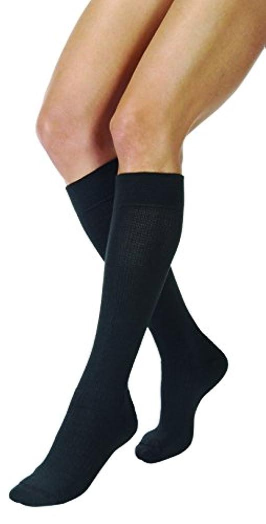 足枷意気揚々開示するJobst ActiveWear Knee High 15-20 mmHg Large Full Calf Black by Jobst