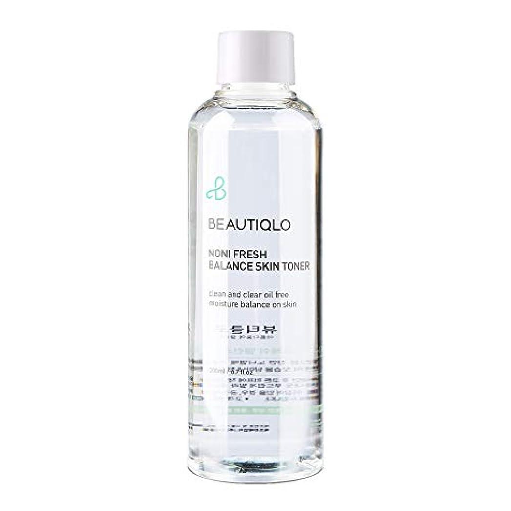 不倫納税者おそらく韓国化粧品 BEAUTIQLO NONI FRESH BALANCE SKIN TONER ビューティクロ ノニフレッシュバランススキントーナー 化粧水