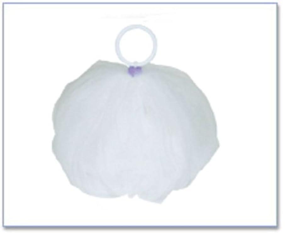 バーガーフリンジ放射するCAC化粧品(シーエーシー) 泡立てネット(ボールタイプ)