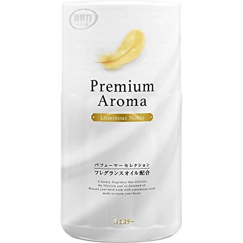 トイレの消臭力 プレミアムアロマ Premium Aroma 消臭芳香剤 トイレ用 ルミナスノーブル 400ml