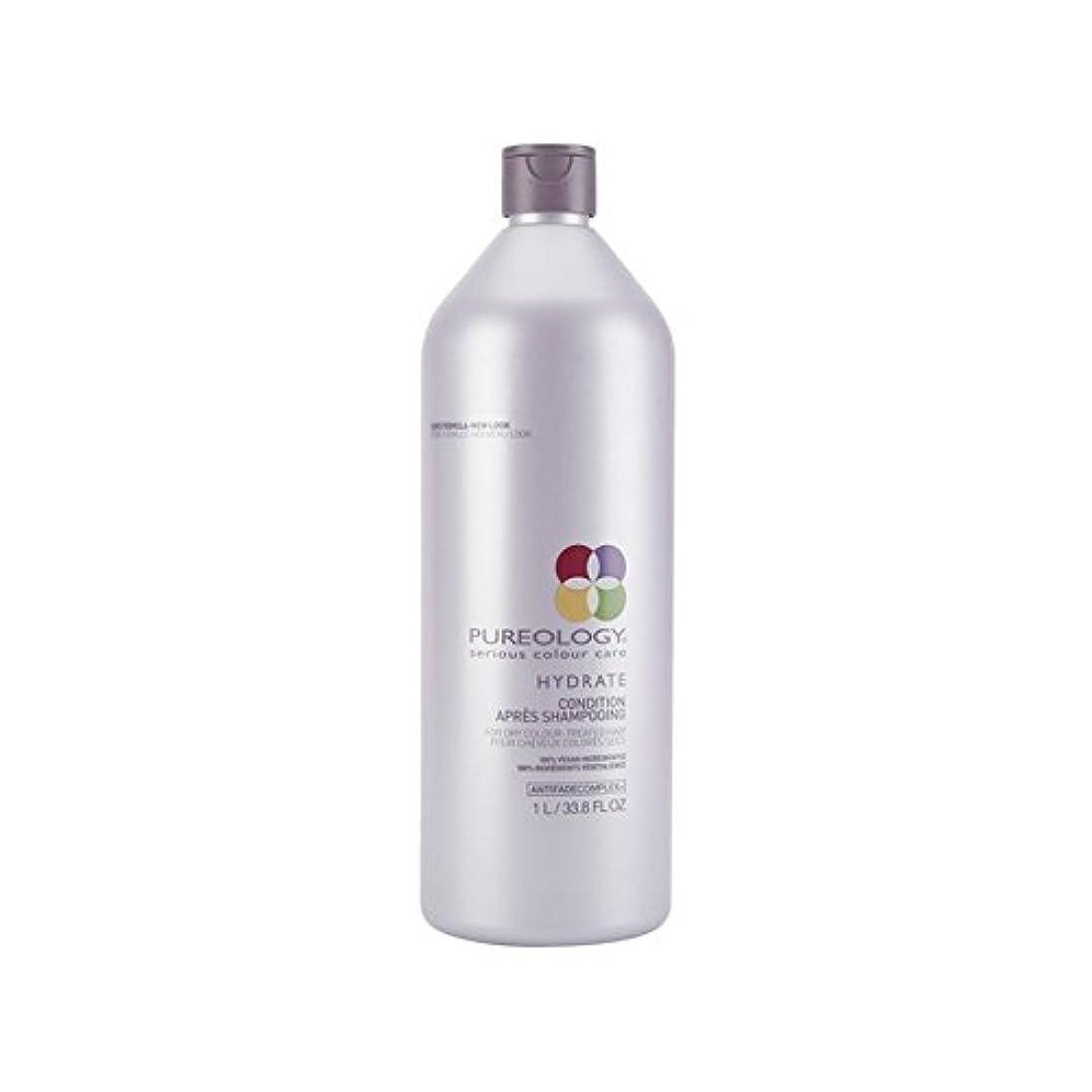 医師花嫁改善Pureology Pure Hydrate Conditioner (1000ml) (Pack of 6) - 純粋な水和物コンディショナー(千ミリリットル) x6 [並行輸入品]